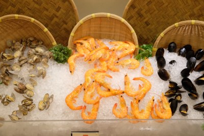 Festive Moments At Ginger, PARKROYAL Beach Road, Christmas 2018 - Seafood on Ice