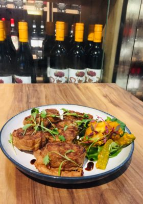 Wine & Gourmet Friends, Exclusive Wines Boutique And Restaurant - Prawn & Seafood Bite, Hei Zho ($12)