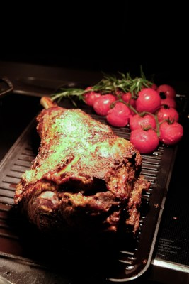 Celebrating 2018 Christmas With Singapore Marriott Tang Plaza Hotel - Rosemary Roast Lamb Leg (Bone-in) with Mint Demi-Glace, 2.5-3kg ($188)