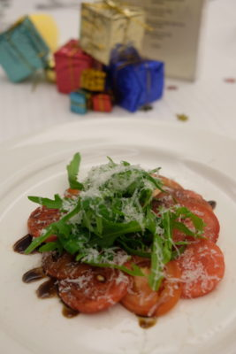 Christmas 2018 At Amara Singapore With Something Exciting - Tomato Watermelon Carpaccio