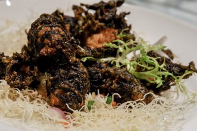Putien Oysters Festival - Seaweed with Crispy Oysters (S$16.90 (S), S$24.90 (M))