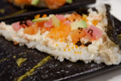 One Sushi Christmas Exclusives On The Menu - One Sushi Classic Sushi Pizza ($9.90)