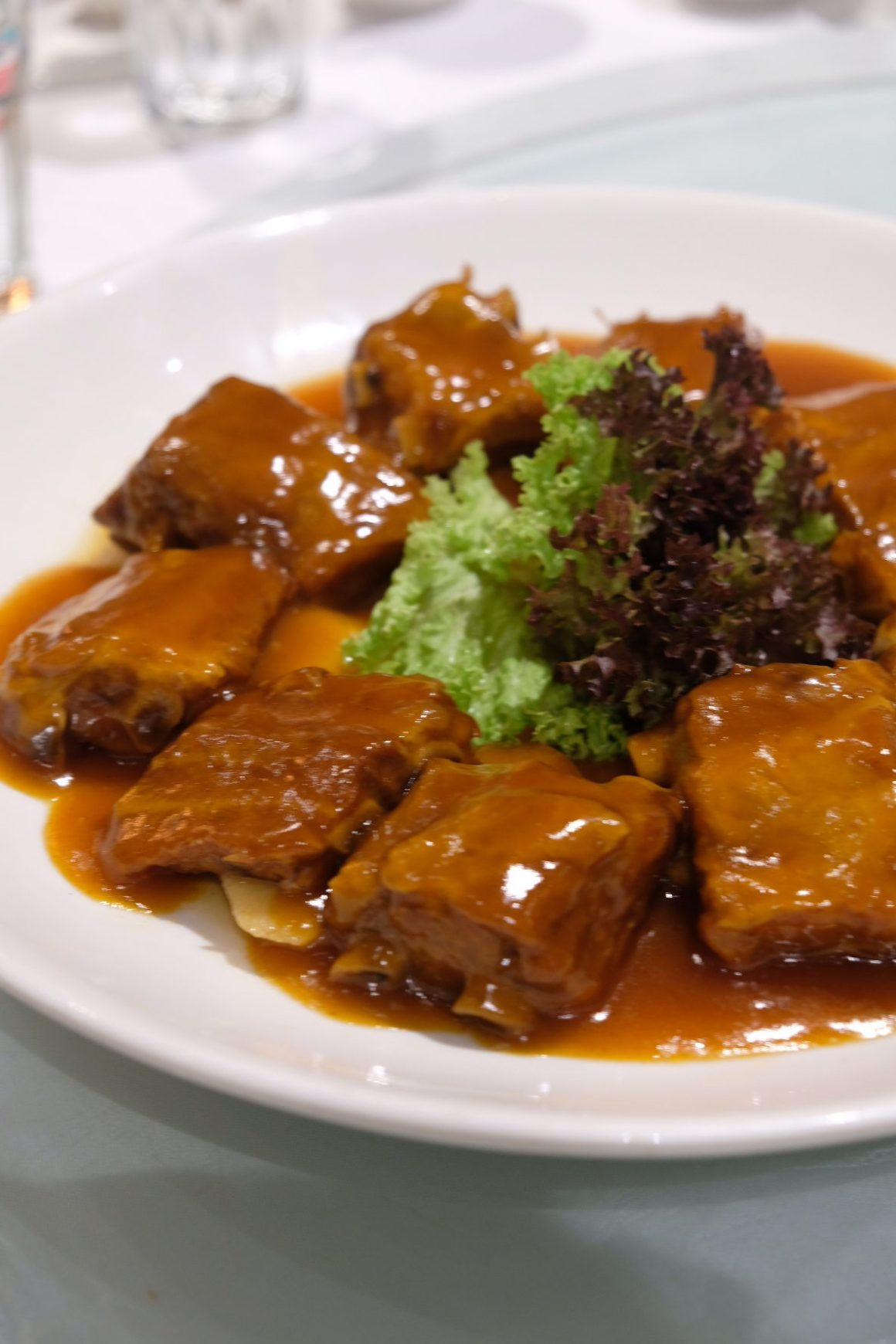 Best restaurants For Your Chinese New Year 2019 Reunion Dinner In Singapore - Putien,  PUTIEN Style Pork Ribs