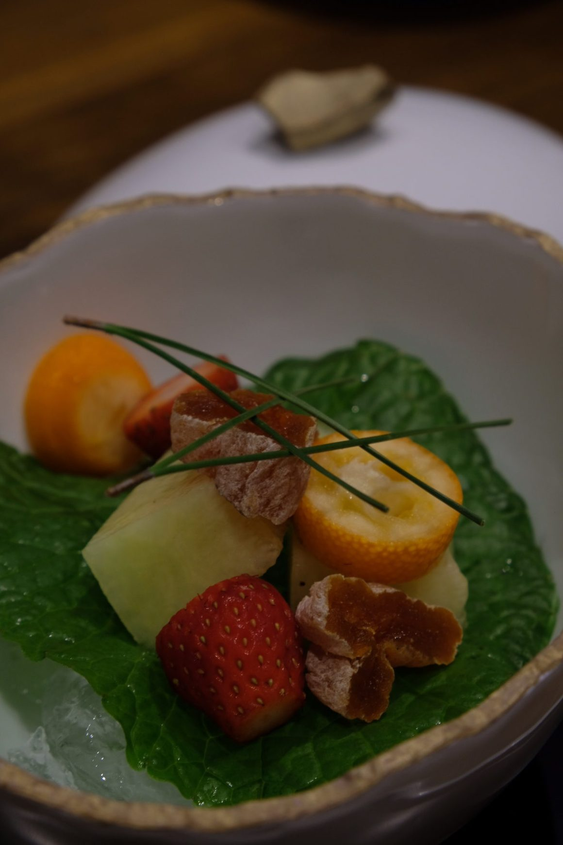 Teppan Kappou Kenji Offers Amazing Food - Seasonal Fruits
