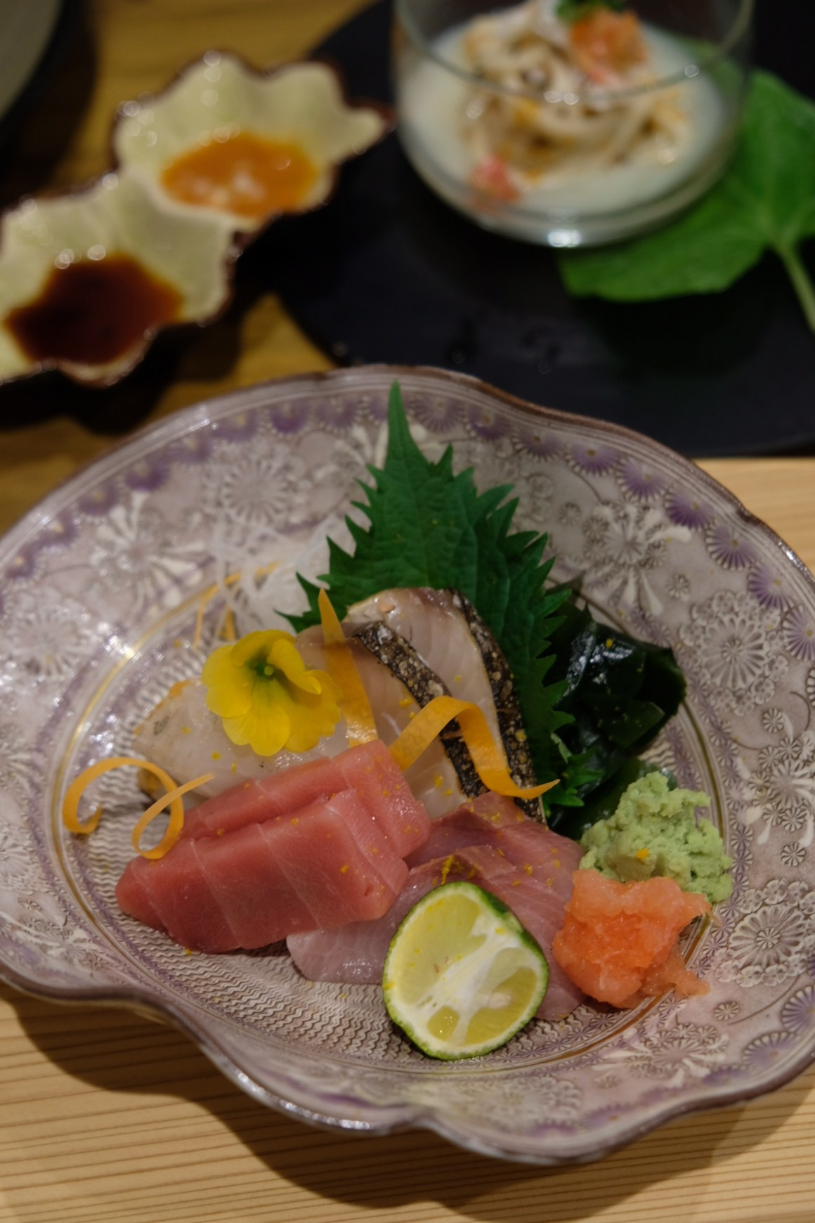 Teppan Kappou Kenji Offers Amazing Food - Assorted Sashimi