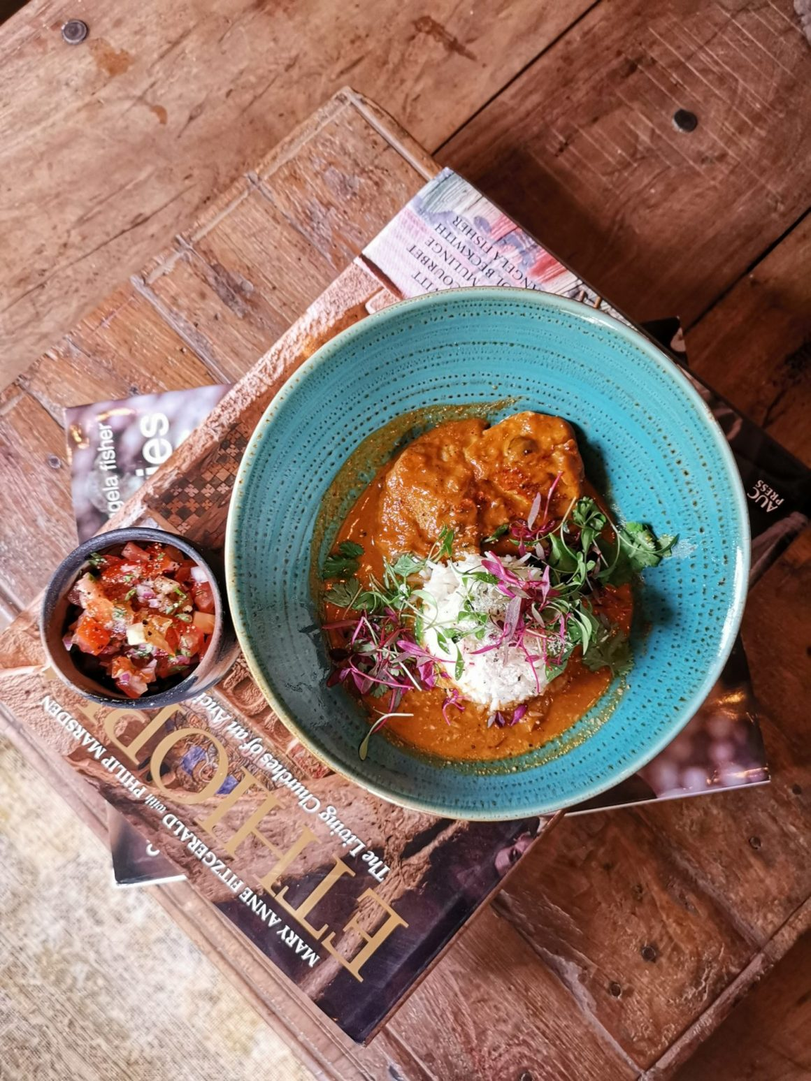 Kafe Utu, First Afro Cafe & Lounge In Singapore - Swahli Fish Curry ($29)