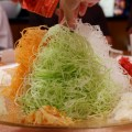 Auspicious Lunar New Year Menu at Din Tai Fung, Singapore - Prosperity Smoked Salmon Yu Sheng