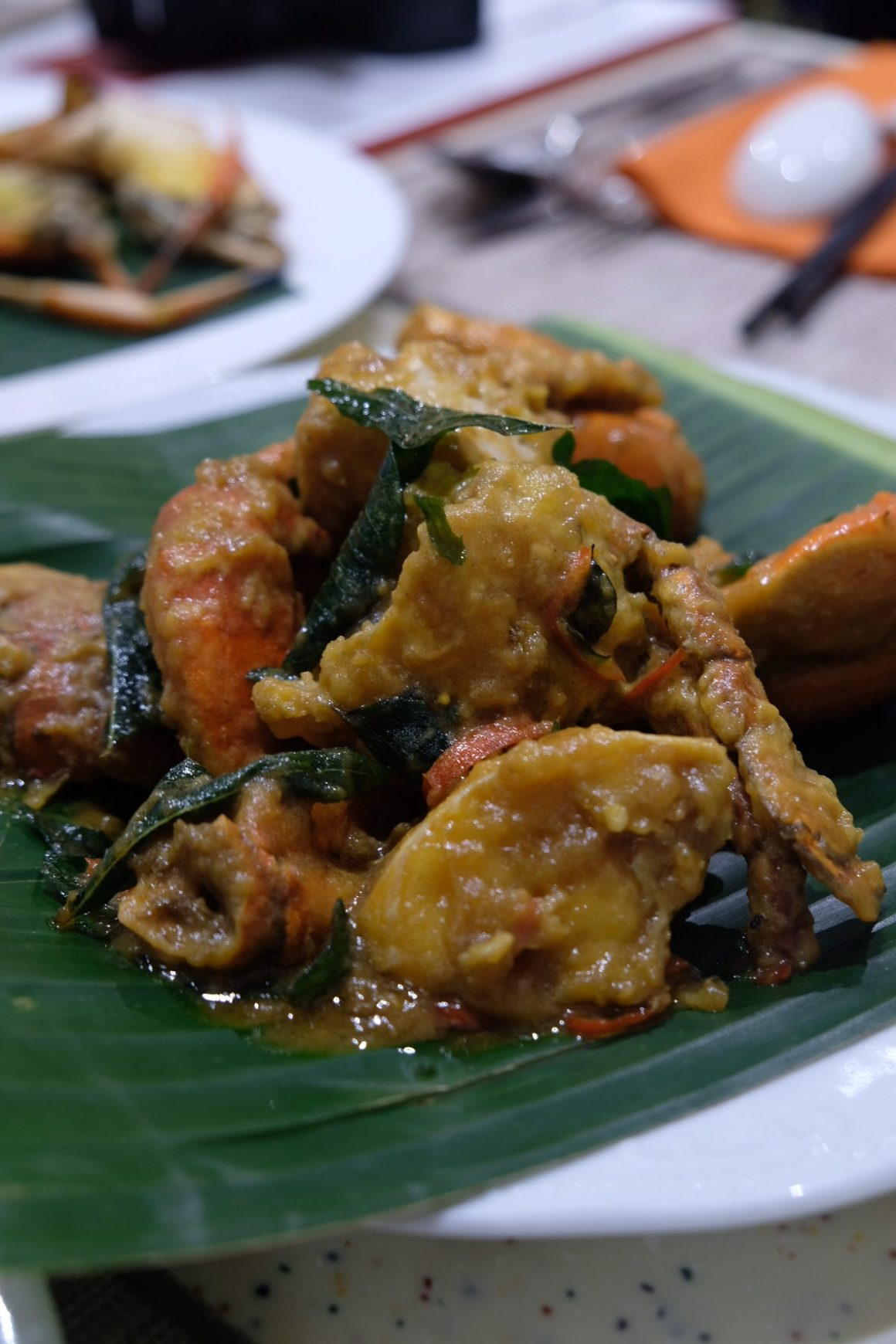 Heritage Flavours and Premium Madness Buffet At Ginger, PARKROYAL On Beach Road - Salted Egg Crab