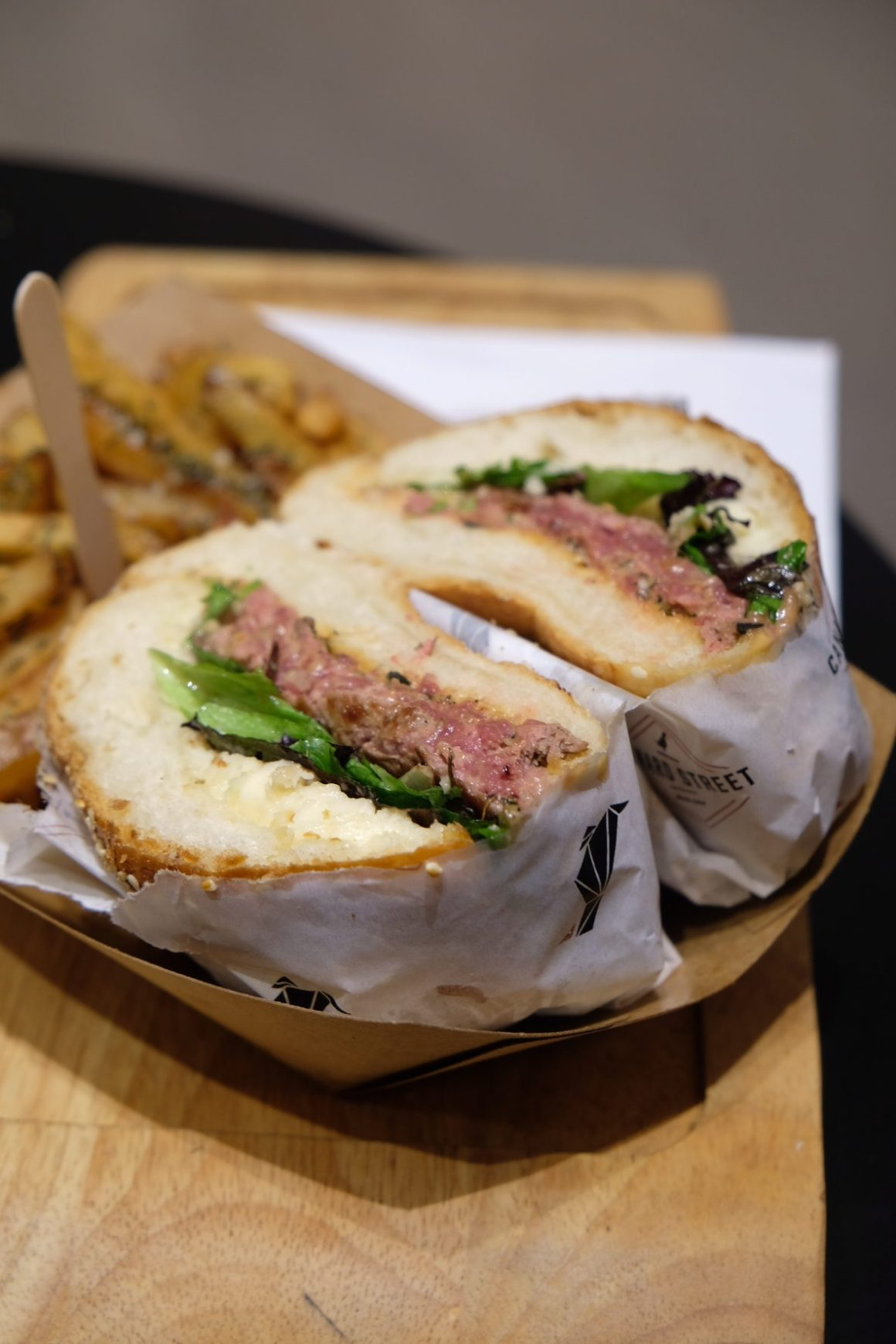 Canard Street, All About Duck At Lille - Burger Magret (€12)