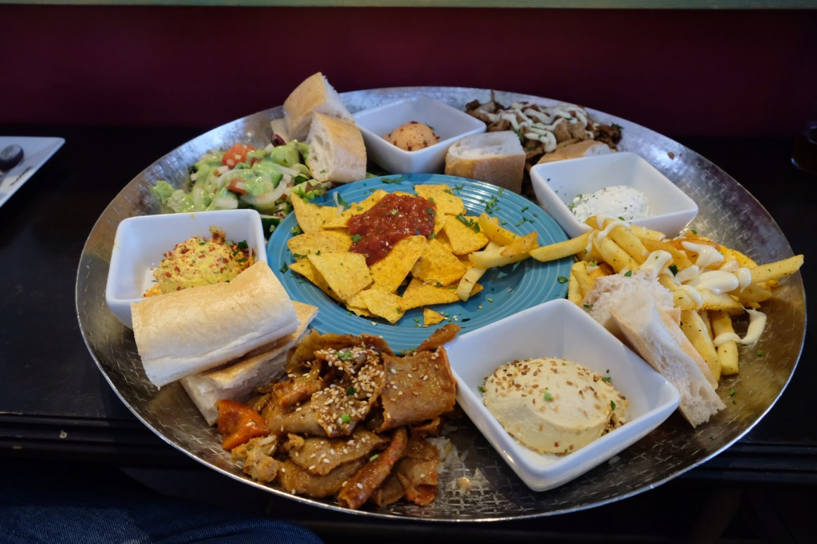 A Weekend At Rotterdam - Middle-Eastern Food, Platter