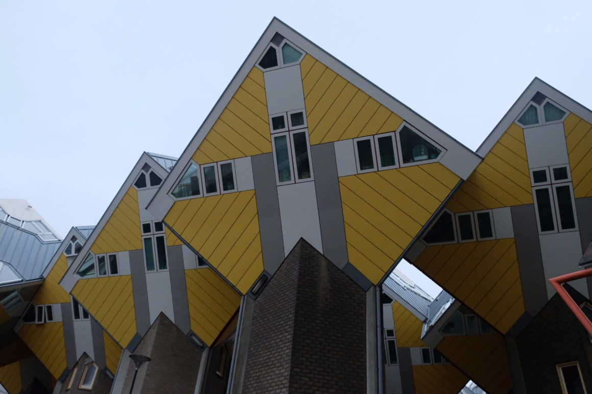 A Weekend At Rotterdam - Rotterdam Cube House, another view