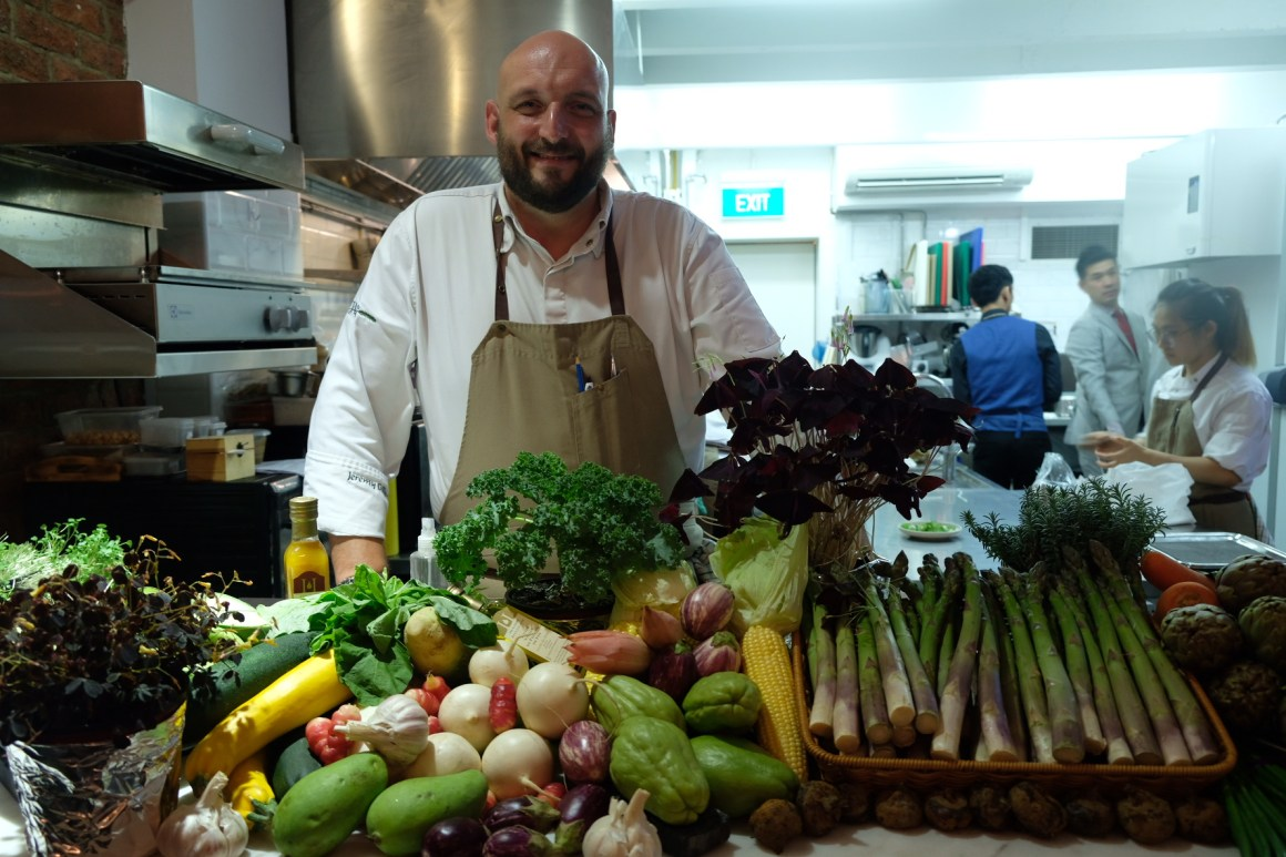 Restaurant Jag Celebrates Earth Day With Spring Produce - Chef Jeremy Gillon