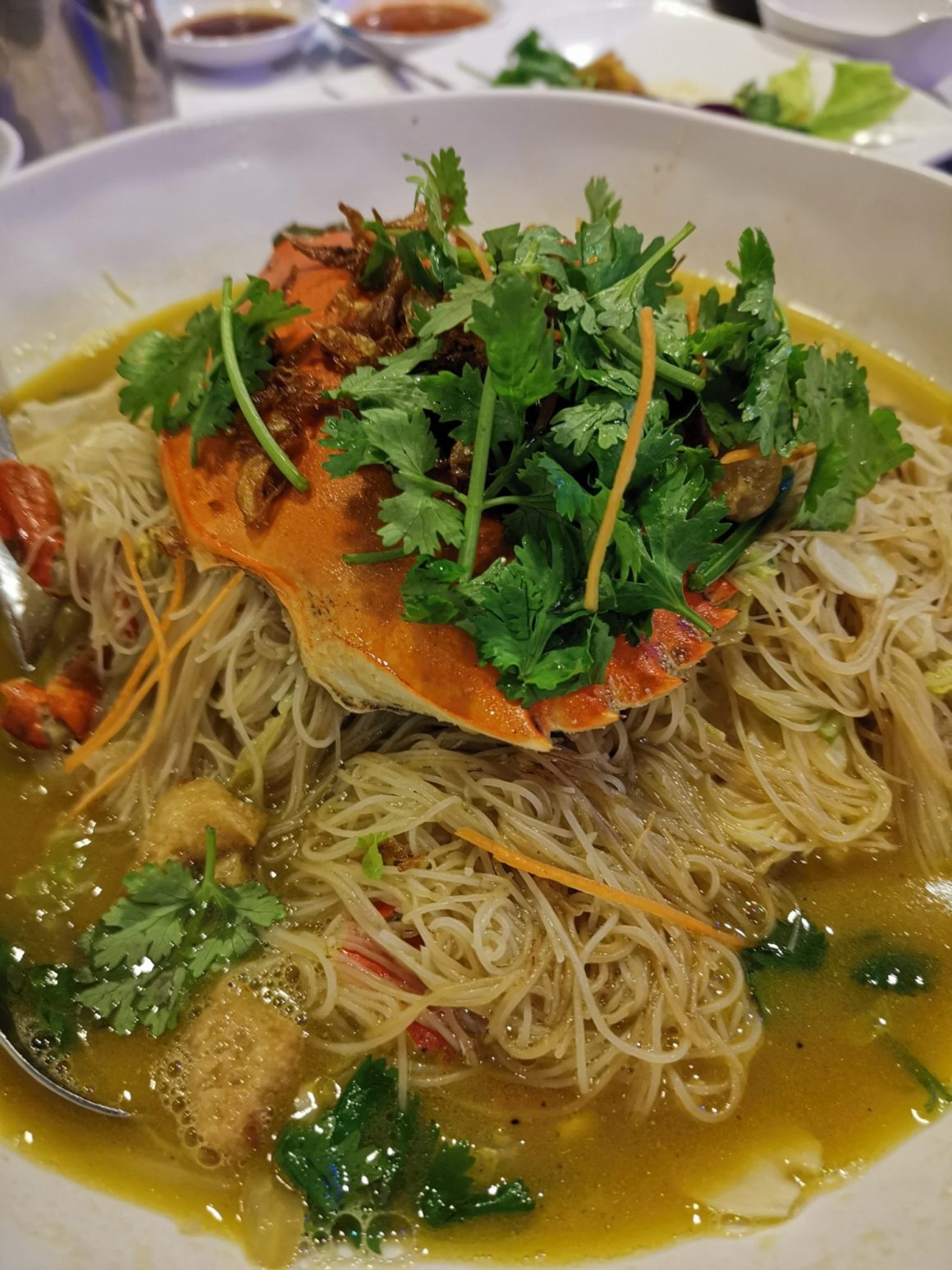 Golden Spoon Seafood Restaurant With Best Crab Mee Hoon - Golden Spoon Bee Hoon Crab (seasonal price)