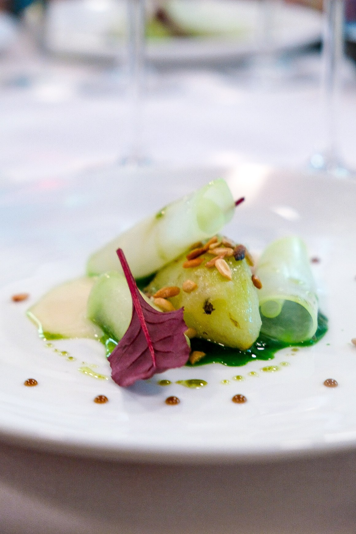 Restaurant Jag Celebrate Earth Day With Spring Produce - Menthe Verte, Chayote, Sunflower Seed