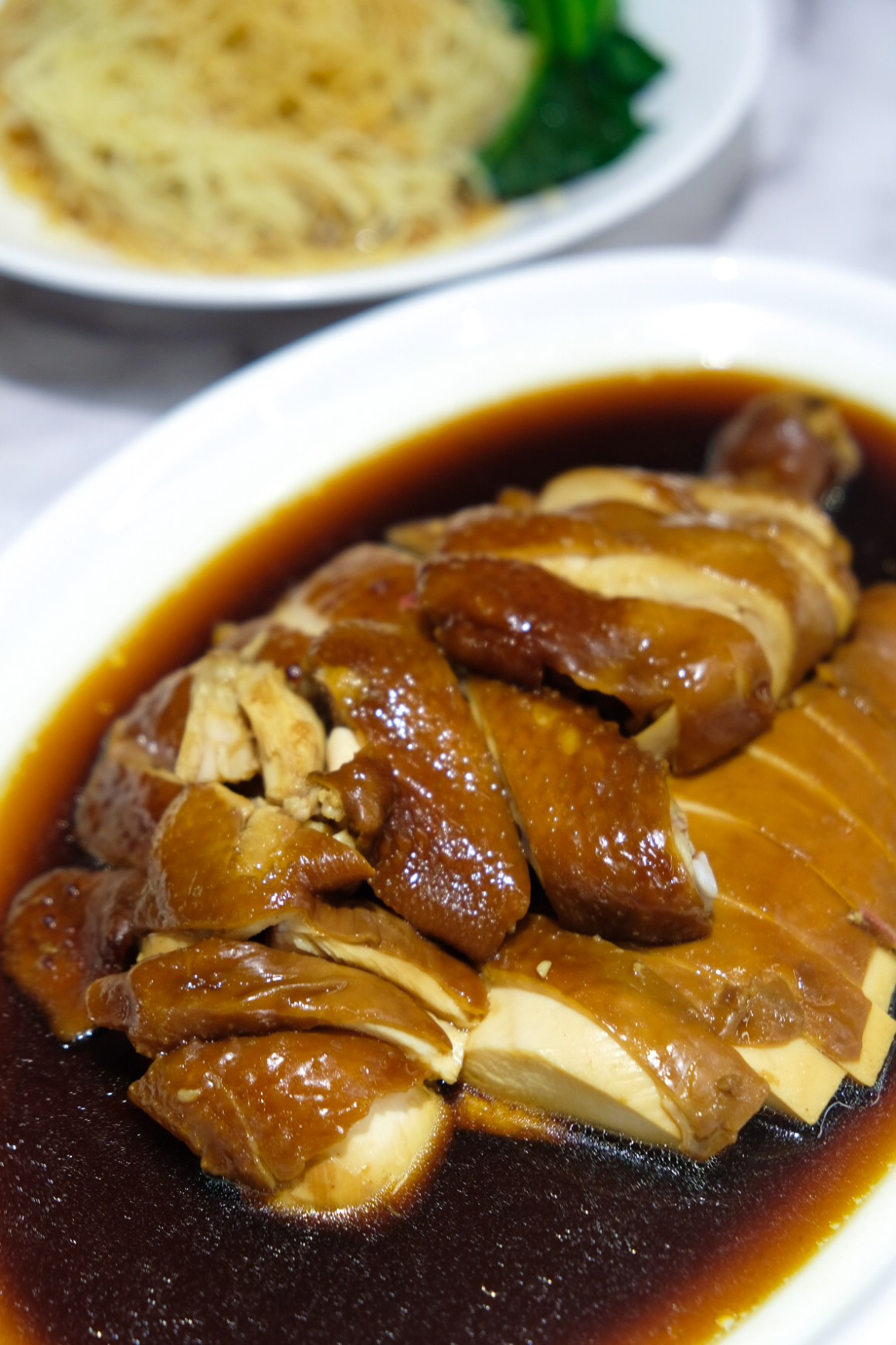 Ho Fook Hei Soy Sauce Chicken By Joyden At Great World City - Specialty Rose Wine Soy Sauce Chicken ($19 Half/$35 Whole)