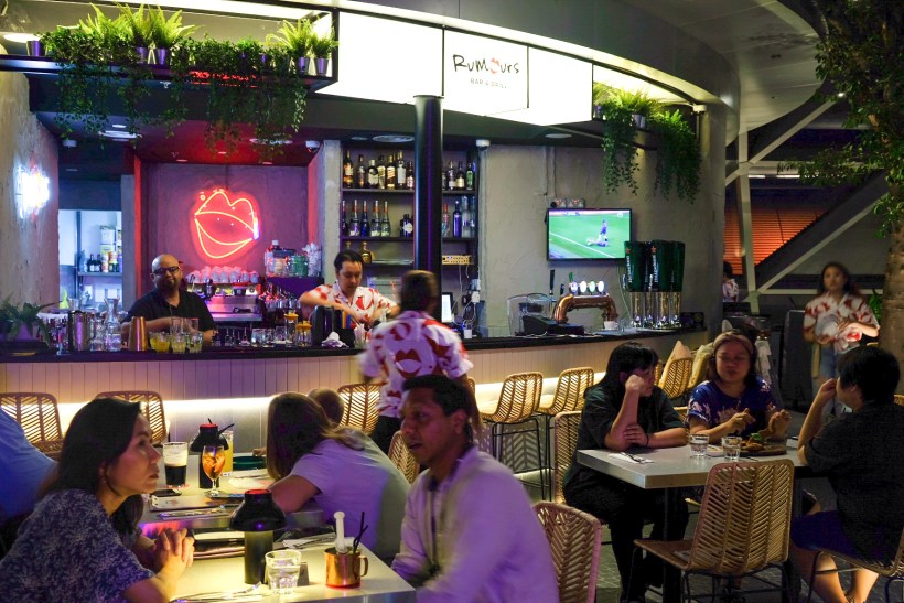 Rumours Bar & Grill @ Jewel Changi, Second Outlet - Overview