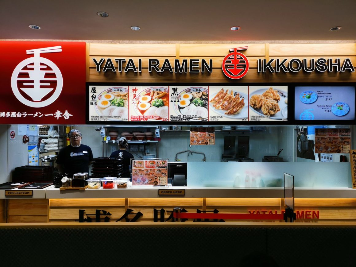 Japan Gourmet Hall SORA By ANA Group, Second Outlet At Changi Aiport Terminal 1 - Ikkousha