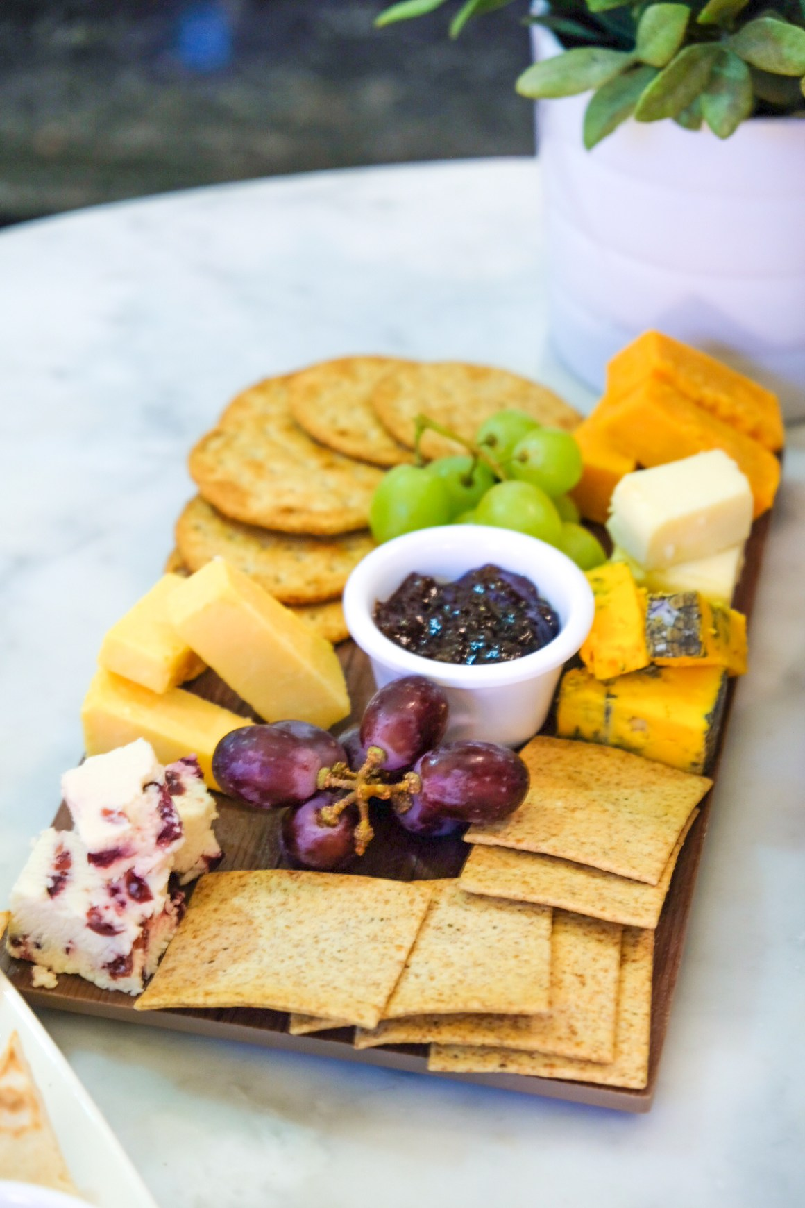 M&S Cafe New Menu Items - Cheese Board ($21)