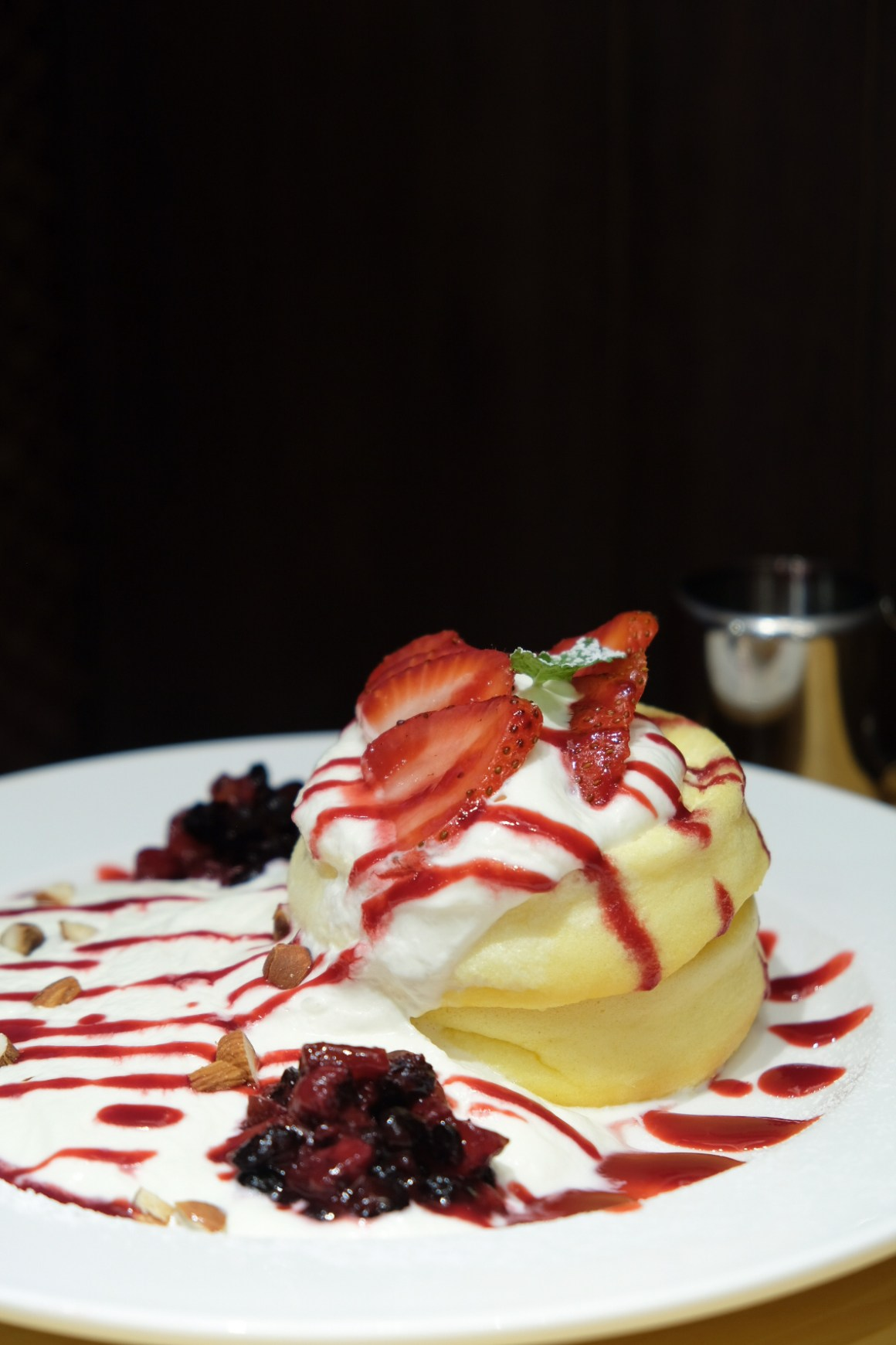 Japan Gourmet Hall SORA By ANA Group, Second Outlet At Changi Aiport Terminal 1 - Yoshimi: Mixed Berry Pancake ($19.80)