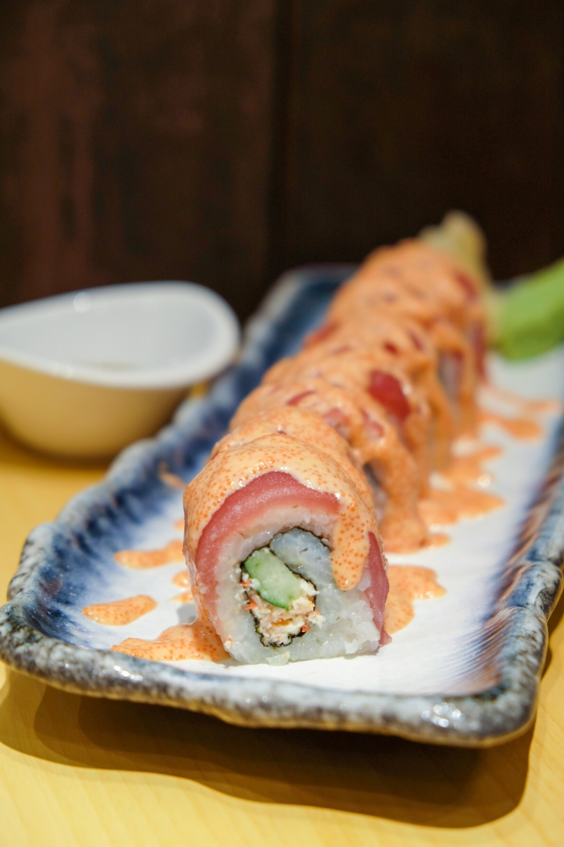 Japan Gourmet Hall SORA By ANA Group, Second Outlet At Changi Aiport Terminal 1 - Megumi Maru: Maguro Mentai Roll ($15.90)