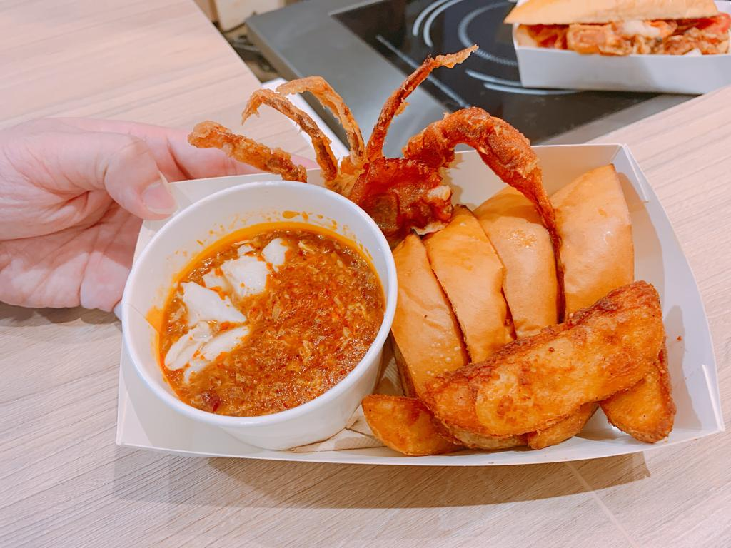 Soft-shell Crab With Chilli Sauce @ Treasure Kiosk - Treasure Cup