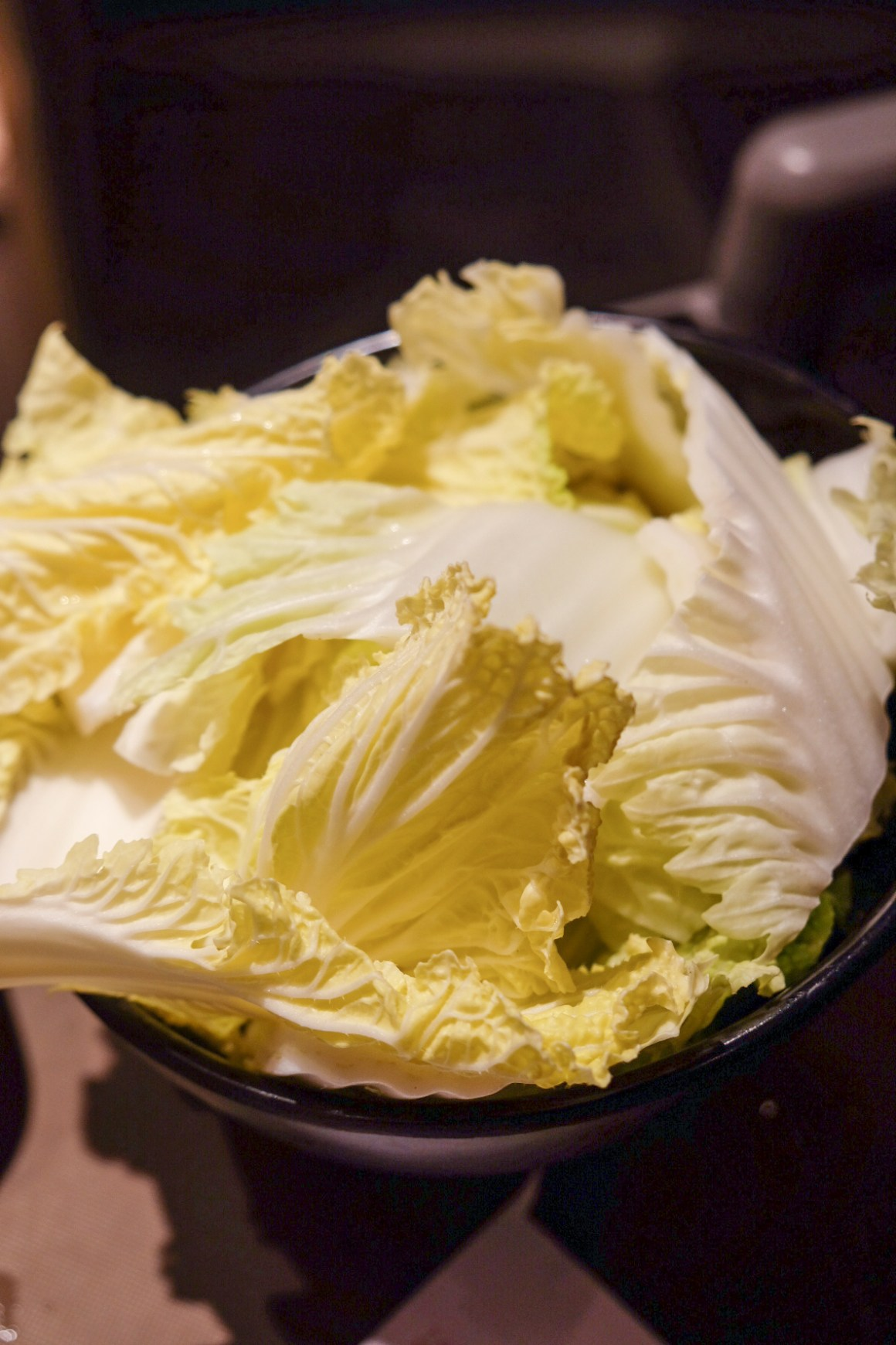 Beauty In The Pot At Star Vista - Chinese Cabbage