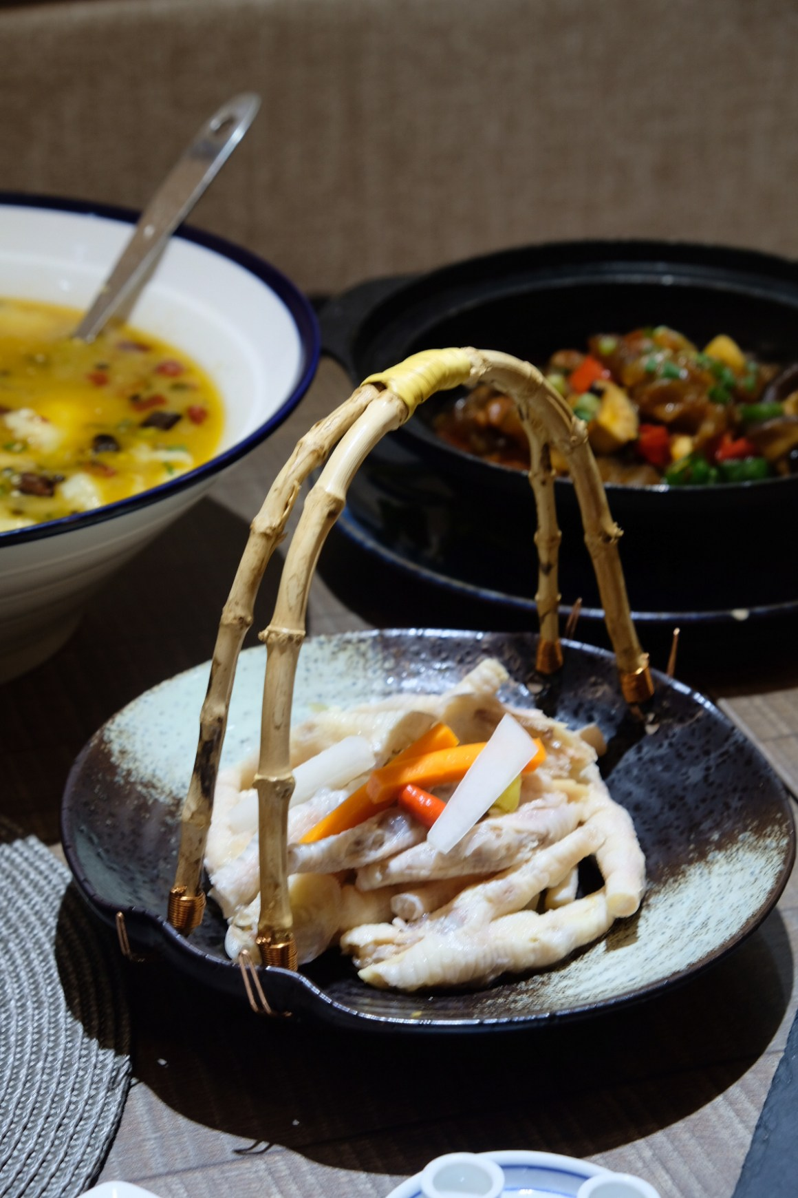 Chengdu Restaurant New Menu, At Amoy Street - Chicken Feet with Pickled Peppers 神仙泡椒凤爪 ($13.80)
