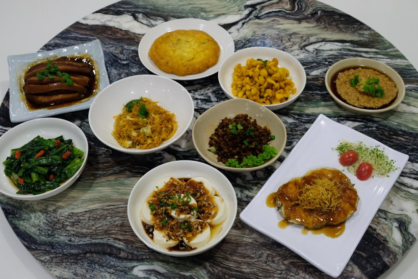 Array of mouthwatering dishes