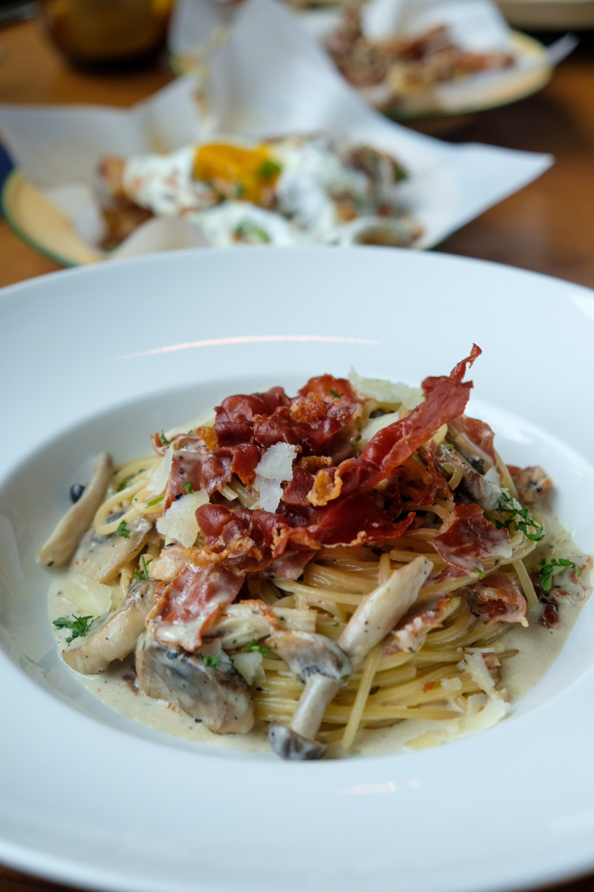 Supply & Demand Orchardgateway New Menu -  Carbonara Cremoso Pasta ($14, $19)