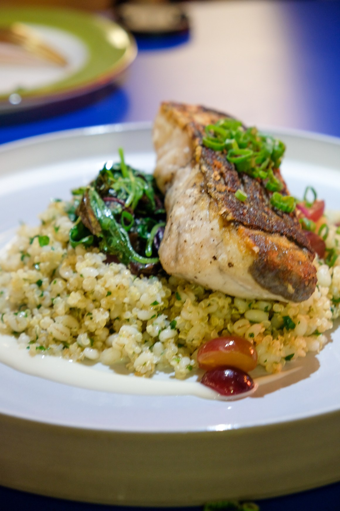 The Garden Club Serving Healthy Food At Downtown Gallery - Grilled Barramundi