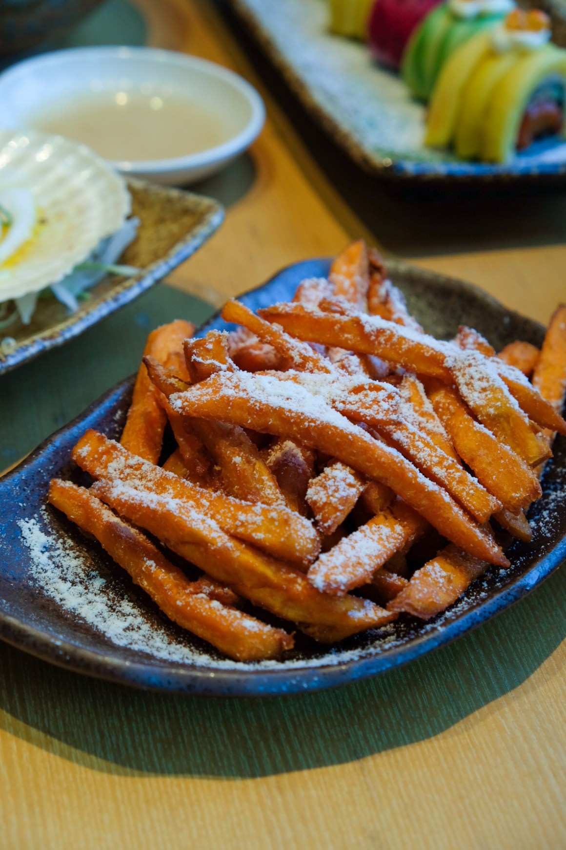 Sushi Tei's New Autumn Menu - Truffle Sweet Potato Fries ($8.80)