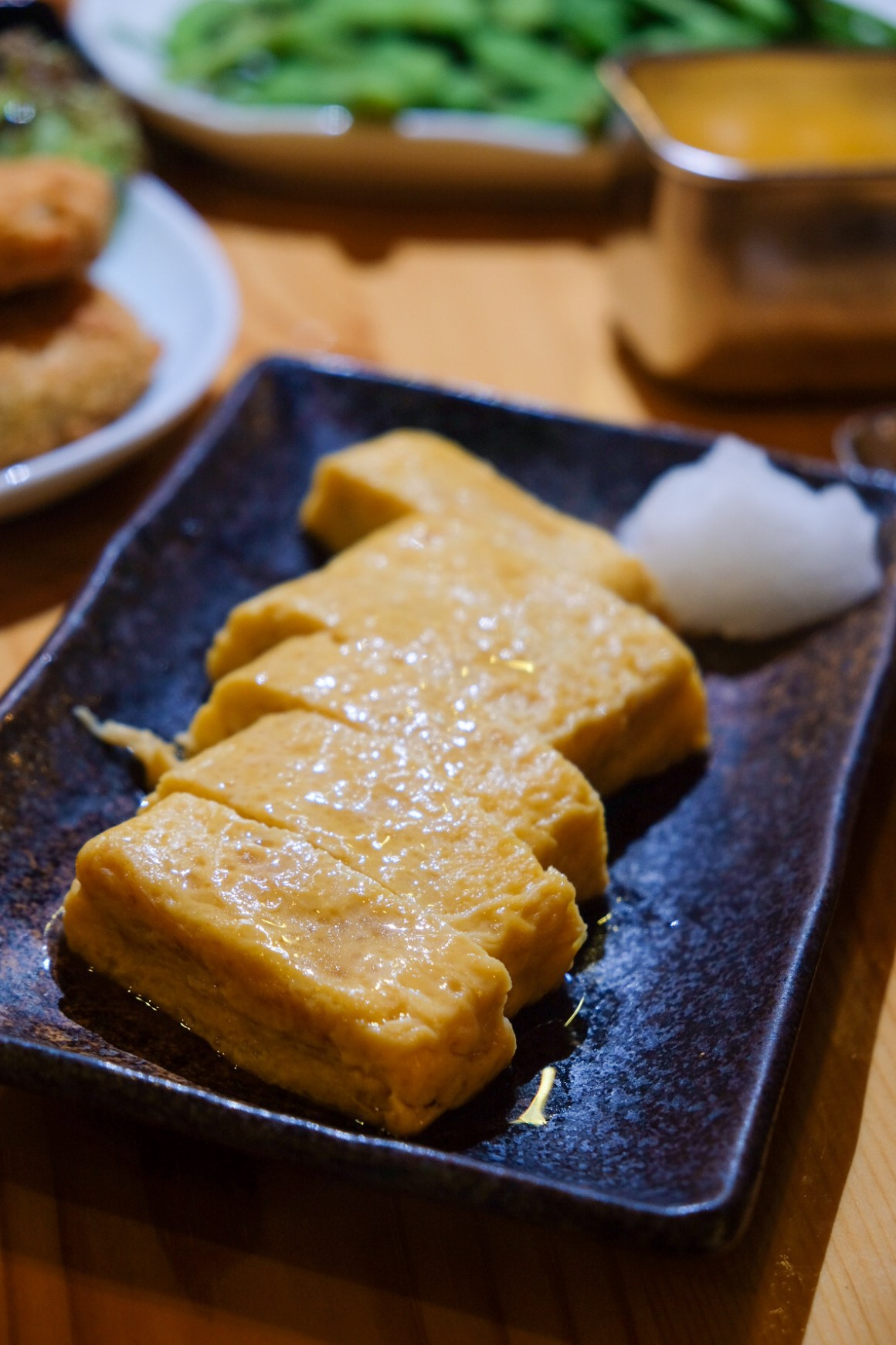 New Autumn Seasonal Menu at Kushikatsu Tanaka - Dashimaki Tamago ($5)