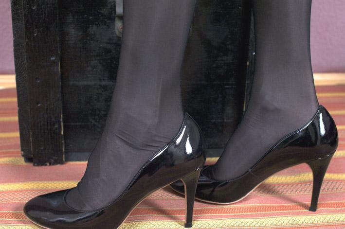 Fabric of AG Nahtstrumpf stockings
