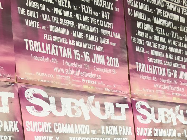 Plakat Subkult