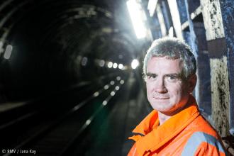 Im Tunnel. Bild: © RMV / Jana Kay