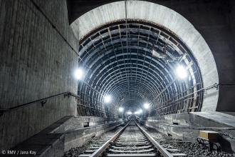 Tunnelröhre. Bild: © RMV / Jana Kay