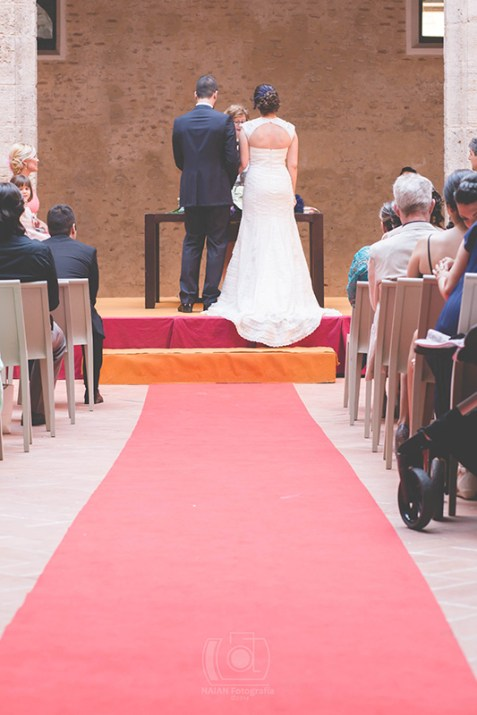 … la ceremonia en el Castell d'Alaquàs...