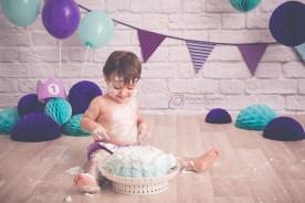 Smash Cake: Norah