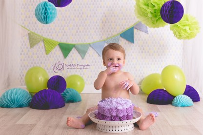 Smash Cake: Álvaro