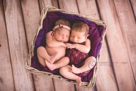 Sesión Newborn, Zoe y Mia