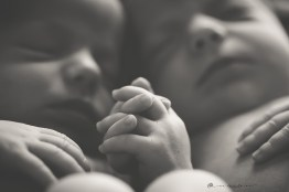 Newborn Aina y Laia