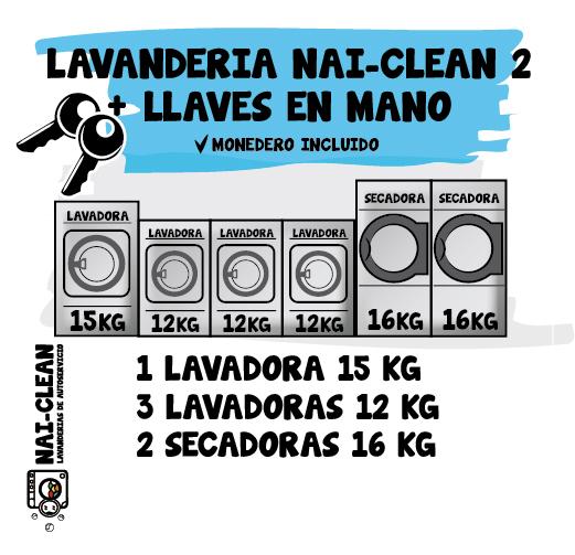 Instalación NAI-CLEAN 2 + llaves en mano