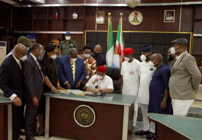 Imo Governor Signs into Law, N108.3b 2020 Revised Budget
