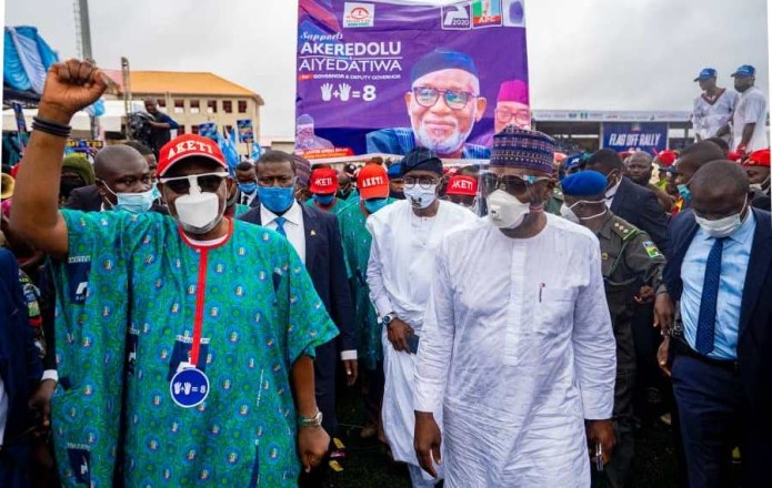 Ondo Guber: Sanwo-Olu congratulates Akeredolu's re-election victory, hails Buhari for deepening democracy