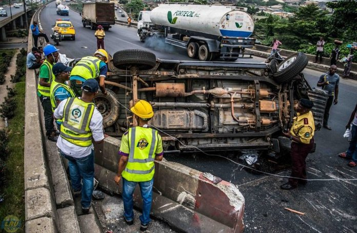 Nine Nigerians died daily from road accidents between April and June – NBS