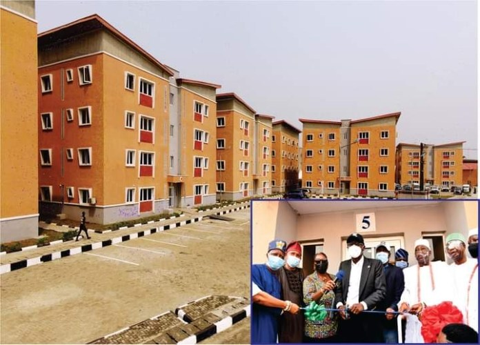 Sanwo-Olu delivers 216 homes in Eti-Osa, Surulere