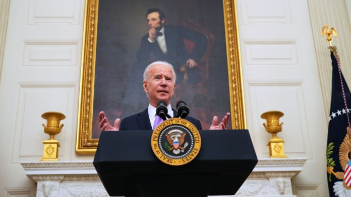 Biden to sign orders to boost food aid, workers' rights amid pandemic