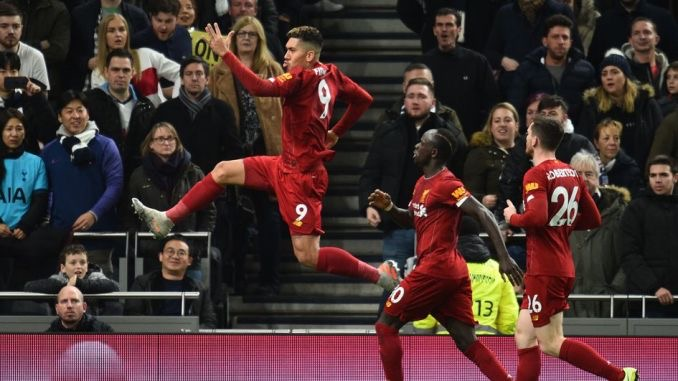 Champions Liverpool return to EPL top four after whacking Tottenham