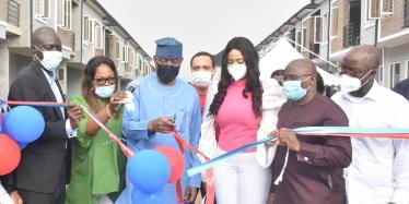 FG inaugurates first Lagos National Housing Fund (NHF) estate
