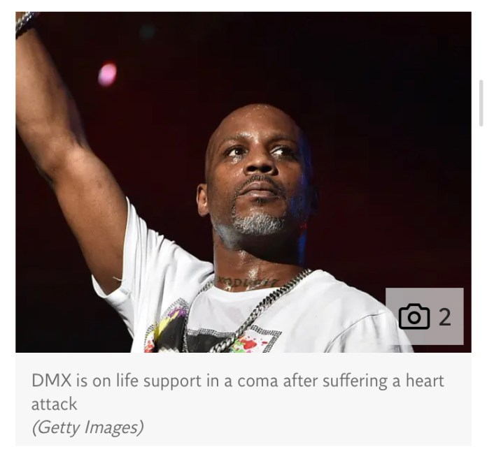 DMX still on life support in coma, manager clarifies 'inaccurate information' about rapper's health